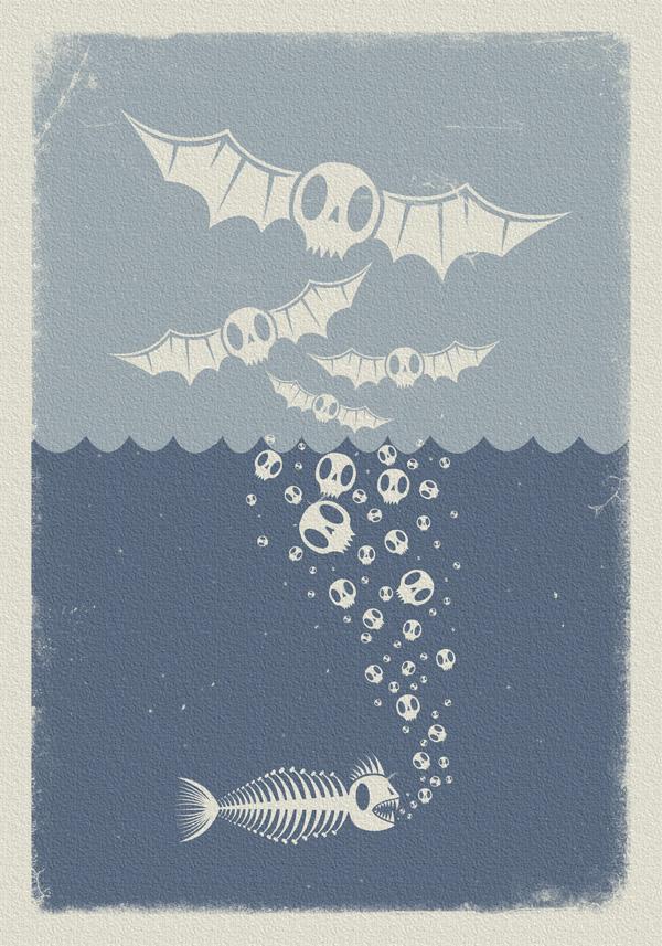 amphibiens de mort